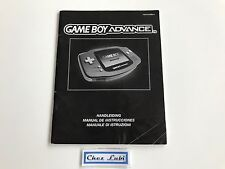 Notice - Console Nintendo Game Boy Advance GBA - PAL EUR
