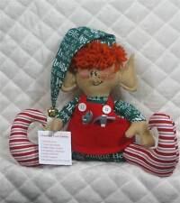 "Primitive Raggedy Christmas ""Gus, the List Checker"" ELF~PATTERN #71"