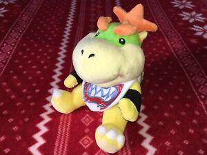 "Official 7"" Sanei Super Mario BOWSER JR. Plush Nintendo Toy Doll JAPAN 2009"
