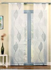gardinen vorh nge im landhaus stil aus voile mit blumenmuster g nstig kaufen ebay. Black Bedroom Furniture Sets. Home Design Ideas
