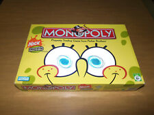 PARKER BROTHERS 2005 Monopoly SpongeBob SquarePants Edition Board Game! COMPLETE