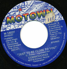 COMMODORES 45 TOURS CANADA MOTOWN THUMPIN'MUSIC