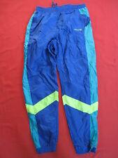 Pantalon Adidas Toile Nylon Bleu Vintage 80'S Pants Tracksuit - 186 / XL