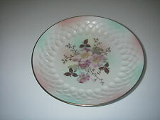 DINNERWARE Schumann/Bavaria Arzberg Wild Rose Blush Plate Bowl gold embossed