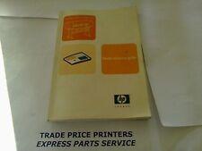 Q1273-90011 Hp Designjet 4000 / 4000ps guía de referencia rápida (inglés)