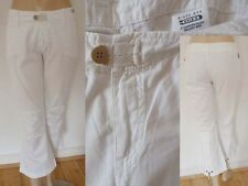 G Star Jeans Hose Ideal Pant WMN 3/4 Pant Girl ¾ Bein Low hip weiss 36 S Top