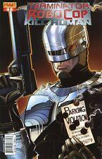 Terminator / Robocop #1: Kill Human Cover A Comic Book