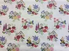 Lewis And Irene - Grandma's Garden Col:1 D#A198 - 100% Cotton By 1/4 Metre