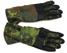 GERMAN ARMY COMBAT GLOVES in FLECKTARN CAMO