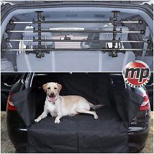 Durable Car Boot Liner Mat & Bumper Protector + Deluxe Dog Barrier Bar Guard #3