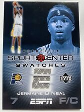 2005-06 Upper Deck ESPN Sports Center Swatches Relic Jersey #JO Jermaine O'Neal