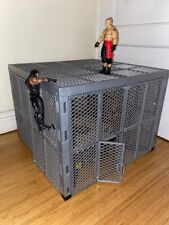 WWE - Hell in a Cell - Mattel Official Cage - wrestling play set RARE with ring