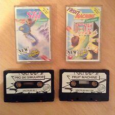 ZX Spectrum-Fruit Machine & Pro Ski Simulateur Par Codemasters