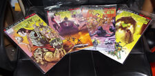 Teenage Mutant Ninja Turtles: Secret History of the Foot Clan (IDW) 1-4 COMPLETE