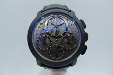 GUY ELLIA JUMBO CHRONOGRAPH 18K GOLD WITH PVD 50MM LIMITED SOLD OUT NO. 001