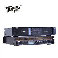 TIP10000q 4X1350W Line Array Subwoofer Amplifier Poweramp Pro PA DJ Tulun play