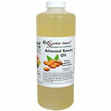 Almond Oil Sweet - 1 Quart 32 Oz 100% Pure Natural Great For Massage, Hair, Skin