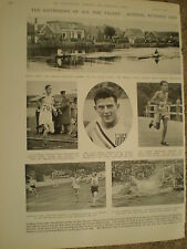 Photo article news from Amsterdam Olympics 1928 ref Y2