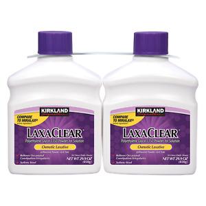 Kirkland Signature LaxaClear 100 Doses, Laxative Polyethylene Glycol, VS MiraLax