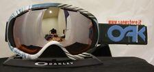 OAKLEY CANOPY FACTORY PILOT 1242 BLACK IRIDIUM HI PERSIMMON MASK SKI SNOWBOARD