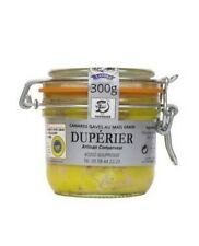 Whole Farmer Duck Foie Gras - 300g DUPERIER Organic IGP Canard Landes Cooked lux