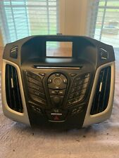 2011-2013 Ford Fiesta Dash Mounted Radio Control Panel with Bezel