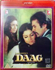 Daag - Sharmila Tagore, Rajesh Khanna, - Hindi Movie DVD ALL/0 English Subtitles