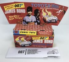 Corgi 336 James Bond Toyota 2000GT Empty Inner & Outer Repro Box