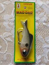 CREME FLEX PLUG MAD DAD MINNOW FISHING LURE * NEW IN ORIGINAL PACKAGE