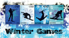 Guyana - 2014 - Winter Olympics 2014 - Sheet Of 4 - MNH