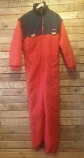 Classic Retro Italian Colmar One Piece Ski Suit Removable Sleeves Rare Item