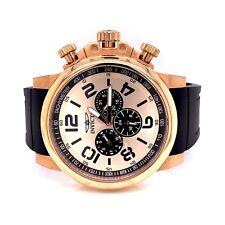 Invicta Corduba 19370 Chronograph Rose Tone 48MM 100M Men's Watch! 7