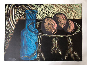 ALAN COX (b1941) Large Limited Ed Lithograph ed 5/9 Signed Rego Hodgkin