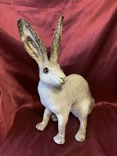 More details for winstanley arctic hare - size 9 - signed largest 39cm colourway #1