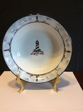 Totally Today Coastal Lighthouse Cereal/Soup Bowl Nautical Theme Excellent Cond.