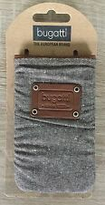 bugatti Elements Patch 73 x 125 mm braun Tasche Case Iphone 4 Galaxy s3 mini