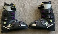 Lange XR7 Black Downhill Ski Boots Size 8, 305mm