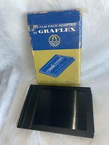 GRAFLEX 1254 GRAPHIC CAMERA 4x5 FILM PACK ADAPTER CATALOG # 1234