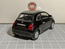 Fiat 500 2007 Black 1/43 NOREV Dealer Model Rare