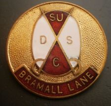 Sheffield United Supporters Club Large Round Football Brooch Pin Badge