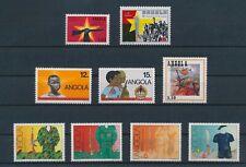 LM80092 Angola revolution soldiers fine lot MNH