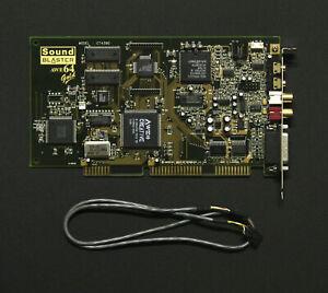 Creative Soundblaster AWE64 Gold + CD cable