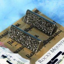 """Lenny Kravitz Trousdale 2 Cabinet Pulls  3"""" Rocky Mountain Hardware CK30303 NICE"""