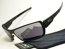 Oakley Spike Ti Titanium Black Sonnenbrille Whisker Penny Square Wire Crosshair