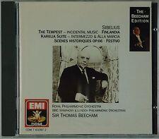 SIBELIUS: Tempest, Finlandia BEECHAM EDITION West Germany EMI Sonopress