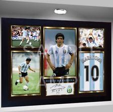 Volver a imprimir Foto Diego Maradona década firmado poster de impresión  pre-Aut. 87fe1d398b748