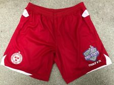 Macron Shelbourne FC Player Issued Match Worn 2016-2017 Home Red Shorts Size M