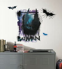 Batman The Dark Knight Rises Shadow Giant Peel & Stick Wall Decal Applique, NEW