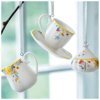 VILLEROY & BOCH Spring Awakening Kaffeeset-Ornamente Oster-Deko Frühling bunt