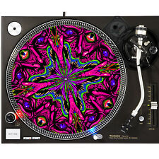 Portable Products Dj Turntable Slipmat 12 inch - Fallic Face